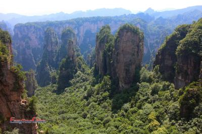 Zhangjiajie National Park Mountains