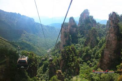 Zhangjiajie National Park Cable Car