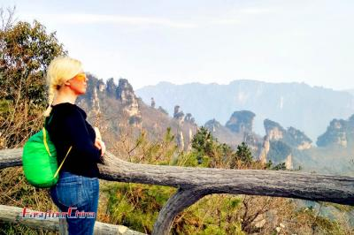 Visiting Zhangjiajie Tianzi Mountain Nature Reserve