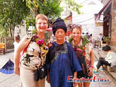Australian Clients Visiting Fenghuang Old Town