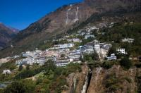 Zhangmu Town Panoramic View