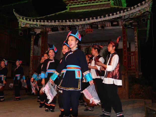 Zhaoxing Dong People Dancing