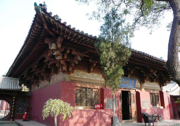 Zhenguo Temple View