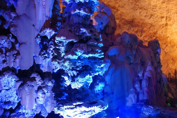 Zhijin Cave Scenic Spot Grotesque Rock
