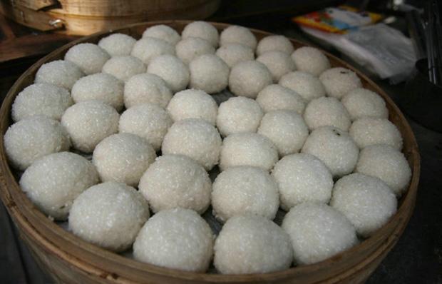 Vegetarian Shanghai Rice Cakes