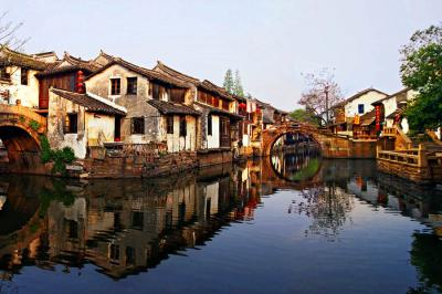 A Corner of Zhouzhuang Watertown