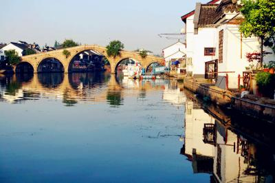 A Corner of Zhujiajiao Water Town