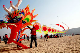The Weifang International Kites Festival